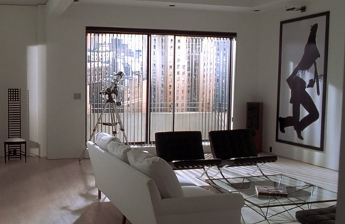 The Barcelona Chair in the movies
